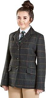Firefoot Girls Haworth Standard Collar Girls Tweed Jackets
