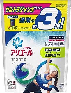 アリエール プラチナスポーツ 洗濯洗剤 ジェルボール3D 詰め替え ウルトラジャンボ 40個(約3倍)