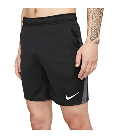 Nike Dry-FIT Knit Short 5.0 (Black/Iron Grey/White) Men