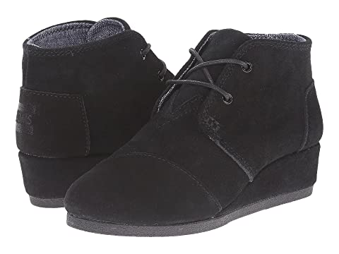 084513b5363 TOMS Kids Desert Wedge Bootie (Little Kid Big Kid) at 6pm