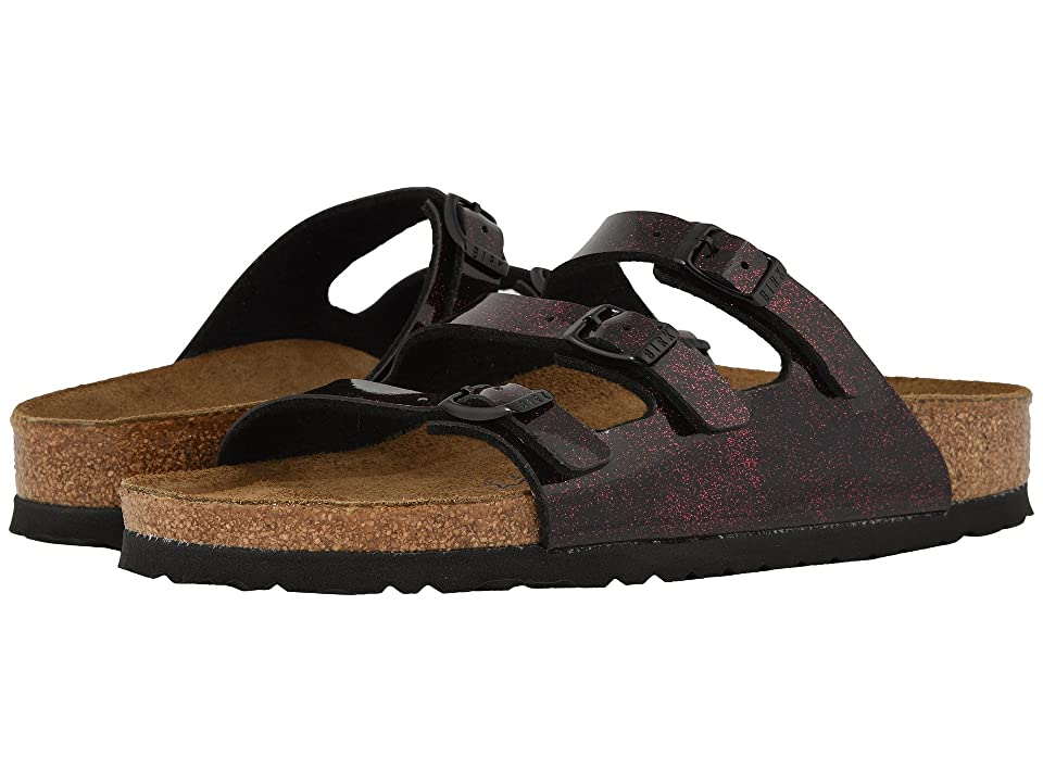 Birkenstock Florida Fresh Soft Footbed (Milky Way Red Birko-Flor) Women
