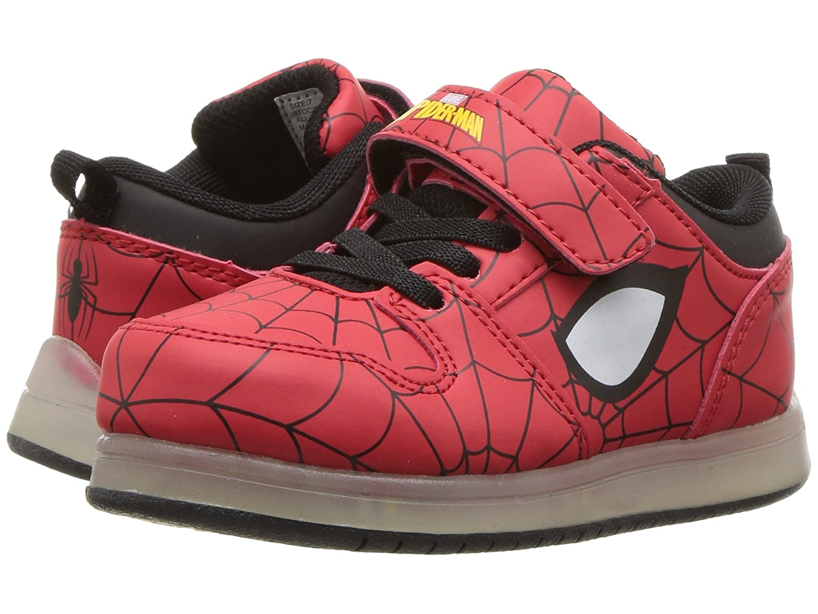 Favorite Characters Spiderman™ Motion Lighted Sneaker (Toddler/Little Kid)Atmospheric grades have affordable shoes