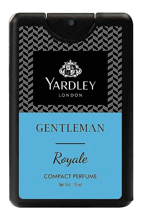 ダイジェスト瞳商業のYardley Gentleman Royale Compact Perfume 18 ml