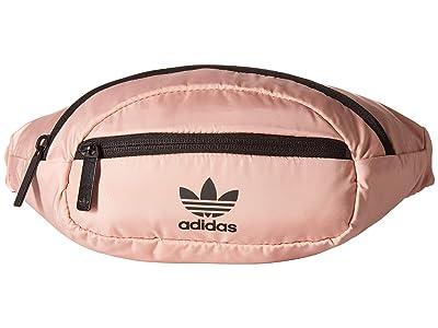 adidas Originals Originals National Waist Pack (Dust Pink/Black) Travel Pouch