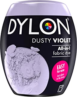 Dylon Machine Dye Pod, Dusty Violet, Easy-to-use Fabric Colour For Laundry, 350g