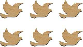 Dove Cut Outs Unfinished Wood Mini Doves 2
