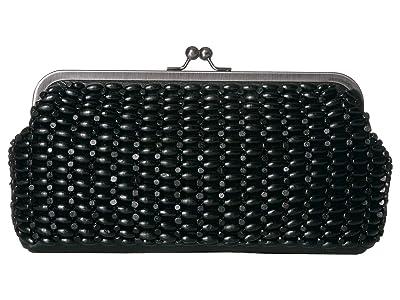 Patricia Nash Potenaz Clutch Front Panel (Black) Handbags
