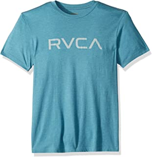 RVCA Men's Big Short Sleeve Crew Neck T-Shirt