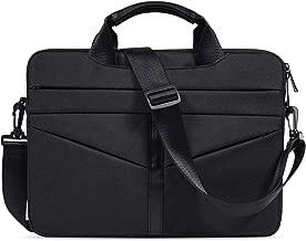 imComor 15.6 Inch Laptop Sleeve Shoulder Bag Waterproof Briefcase Handbag Case Cover for Acer Aspire/Predator, Toshiba, Dell Inspiron, ASUS P-Series, HP Pavilion, Lenovo, MSI GL62M Carrying Bag, Black