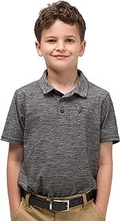 Three Sixty Six Youth Boys Golf Dri Fit Polo Shirt, Breathable Performance Fit