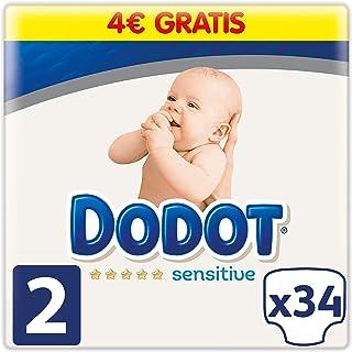 Dodot Pañales Protection Plus Sensitive, Talla 2, para