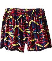 Ella Moss Girl - Kira Printed Woven Shorts (Big Kids)