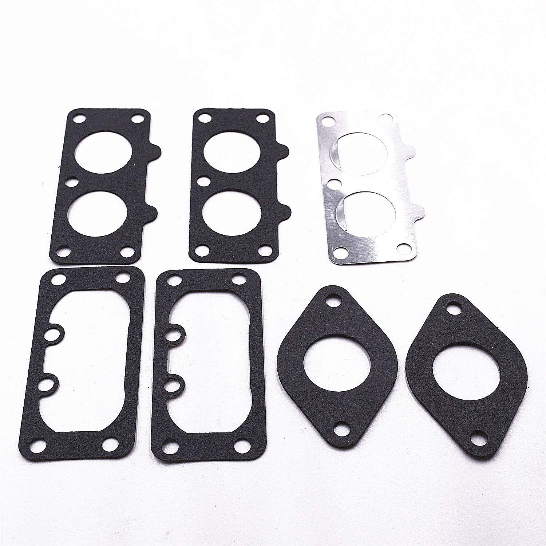 Carbman Gaskets kit for 15004-1010 15004-0763 15004-7024 Carburetor for Some FH641V FH661V 22 HP Engine M1F Carb