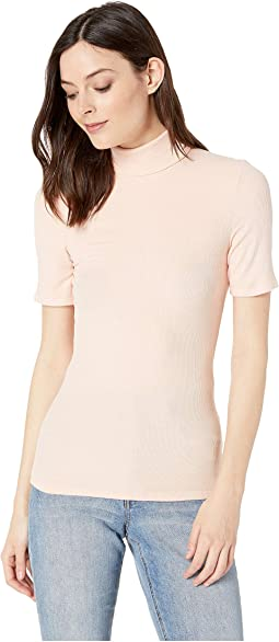 Cleo - Short Sleeve Turtleneck