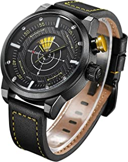 Weide Sport Watch For Men Analog Genuine Leather - WH5201-4C