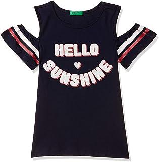 United Colors of Benetton Girl's Regular Fit T-Shirt