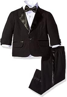 Nautica Baby Boys 4-Piece Tuxedo with Dress Shirt, Bow Tie, Jacket, and Pants