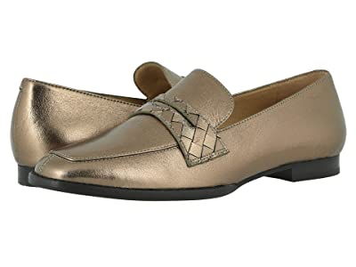 Johnston & Murphy Suzanna (Dark Gold Metallic Suede) Women