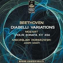 Beethoven: Diabelli Variations & Mozart: Violin Sonata K. 454