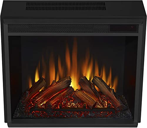 2021 Real Flame Vivid online sale Flame Electric Firebox, popular Black outlet sale