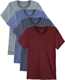 Bolter 4 Pack Men's Everyday Cotton Blend Short Sleeve T-Shirt