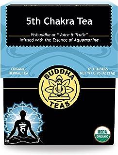 Organic 5th Chakra Tea - Kosher, Caffeine-Free, GMO-Free - 18 Bleach-Free Tea Bags