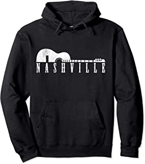 Nashville Guitar – Tennessee Country Music City Souvenir Pullover Hoodie