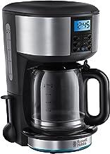 Russell Hobbs Buckingham kaffebryggare, upp till 10 koppar, 1.25l glaskanna, programmerbar digital timer, varmhållningsfun...