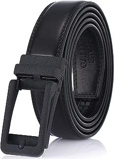 Gallery Seven 男式皮革棘轮腰带 - 可调节扣带 - 休闲装腰带