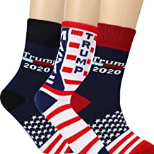 Vovii Mens Trump 2020 Trump Socks, Donald Trump Gifts For Men, Gag Gifts