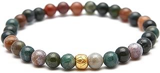 Inspirations by Satya Gold Plate Stretch Bracelet (6mm)