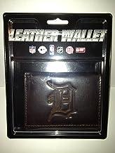 MLB Detroit Tigers Tri-Fold Leather Wallet