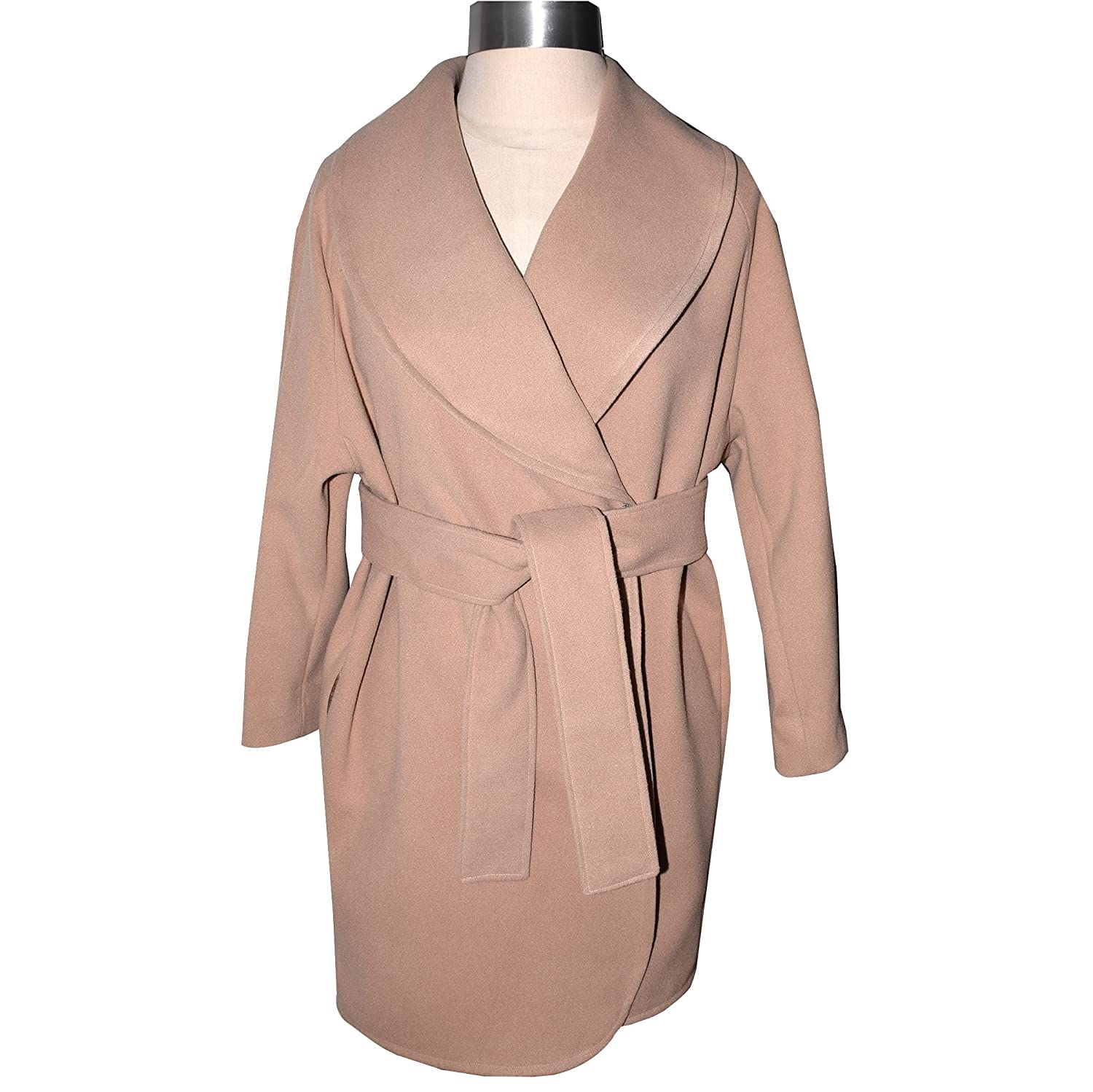 Luxurious Camelhair Polyester Wrap Free shipping / New Tie Bombing free shipping Coat with