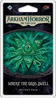 Arkham Horror The Card Game Where the Gods Dwell MYTHOS PACK | Horror Game | Mystery Game | Cooperative Card Game | Ages 1...