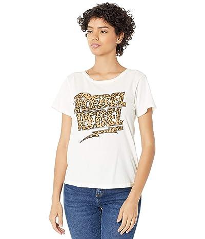 The Original Retro Brand Vintage Cotton Leopard Rebel Rebel Short Sleeve Tee