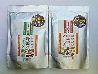 コロコロ野菜の食べる健康スープ8食(和風4食&ミネストローネ4食)