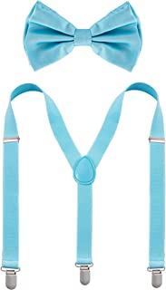 Bowtie & Suspenders Sets - Pastel Colors