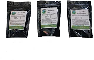 Starter Growth Kit - Organic Plant Food for Great Growth, Booming Blooms, and Optimum Flavor. Includes Three Key Products from Living Stone Organics. Makes 30 gallons of Plant Food