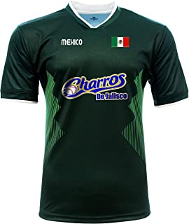 Jersey Mexico Charros de Jalisco 100% Polyester_Made in Mexico