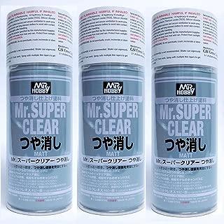 TOP Satisfied Mr Super Clear FLAT Matte Matt 170ml Spray Sealant B514/700 Model NEW Hobby Model Supplies Engines