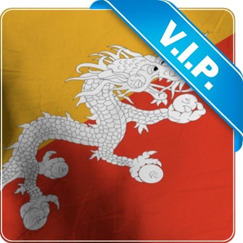 Bhutan Fahne live Tapete