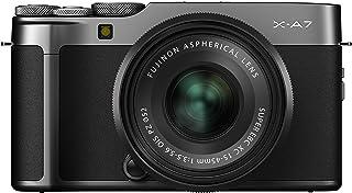Fujifilm X-A7 Kit cámara con Objetivo Intercambiable XC15-45/3.5-5.6 Plata oscuro