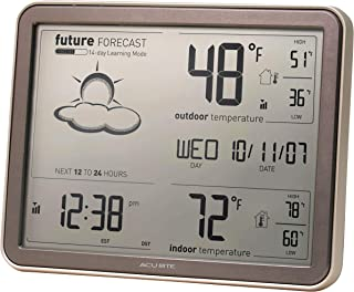 AcuRite 75077A3M Self-Learning Forecast Wireless Weather Station with Large Display and..