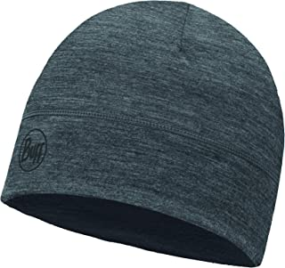 Buff Solid Grey Lightweight Merino Wool Hat Beanie - One-Size