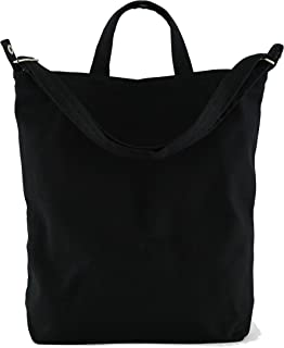 baggu oversized leather tote bag