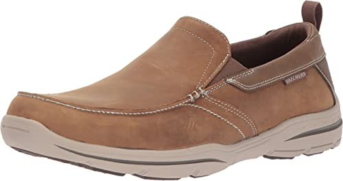 Skechers Hommes's Harper-Forde Driving Style Loafer, DSCH, 14 Wide US