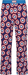 Marvel Captain America Shield Blue Lounge Pant Pyjama Bottoms by Re:Covered