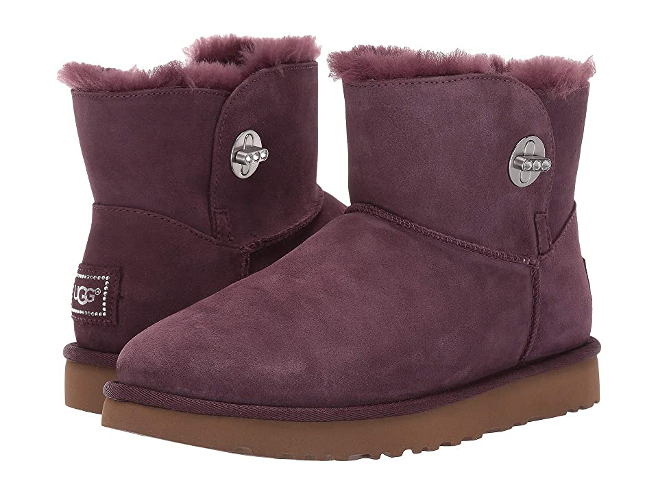 UGG Mini Turnlock Bling (Port) Women