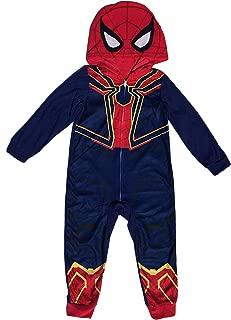 Avengers Spider-Man Iron Spider Boys Union Suit Pajama (S (6/7))