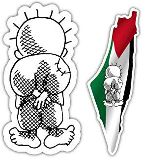 free palestine car stickers
